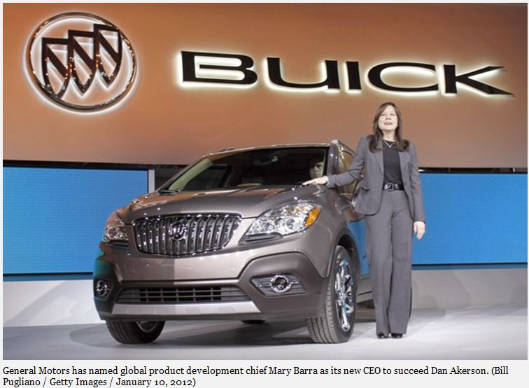 First Female CEO of GM: Trend or Anomaly?