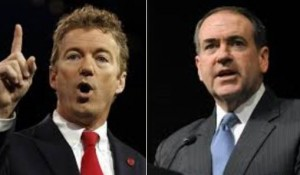 huckabee and paul