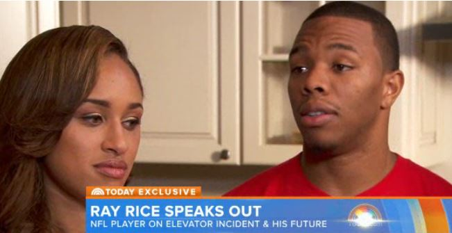 Does Ray Rice Get to Hide Behind His Wife?