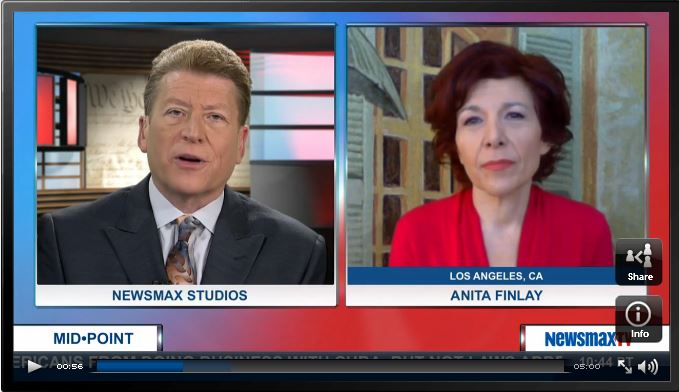 Anita Finlay & Ed Berliner / Newsmax TV 2 12 2015 / click pic to watch interview