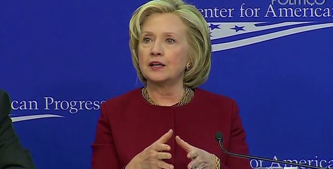 Hillary Clinton Challenges Barriers to Social Mobility