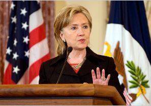 Secretary of State Hillary Clinton (Photo Credit: Public Domain/Department of Defense)