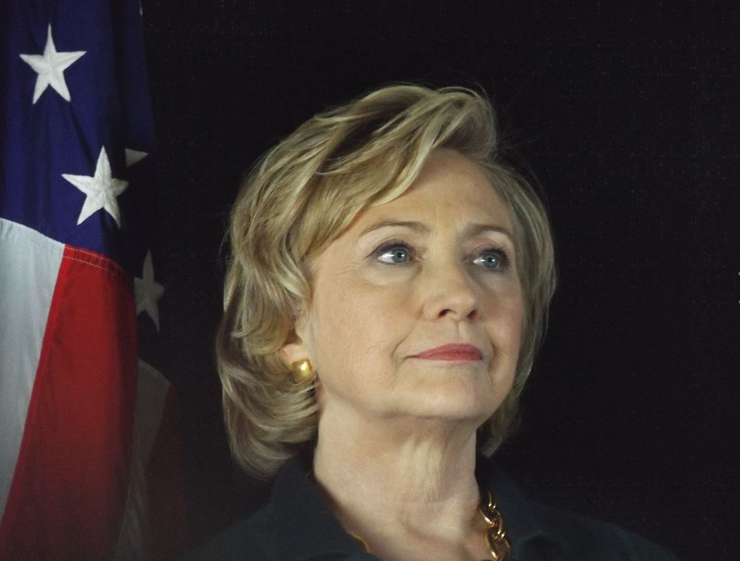 Hillary Clinton/Photo by Jim Livesey, used by express permission