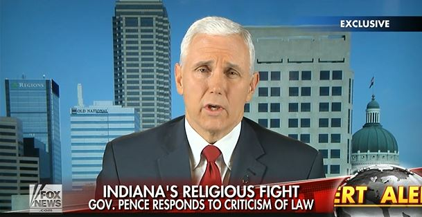 Is Governor Pence's RFRA Making the Republican Party Unelectable?