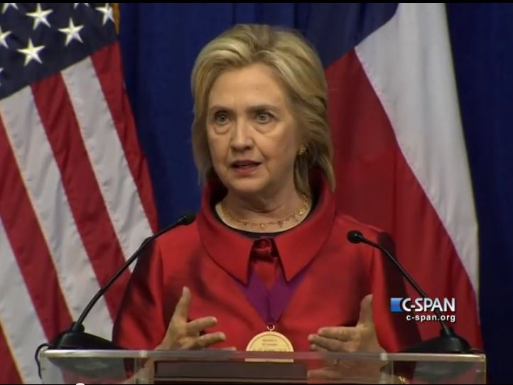 Hillary Clinton Dares Republicans on Voting Rights