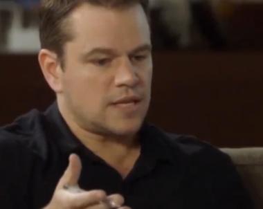 Matt Damon Shuts Down a Female Producer Calling for Diversity