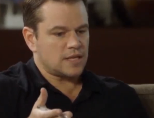 Matt Damon Shuts Down a Female Producer Calling for Diversity