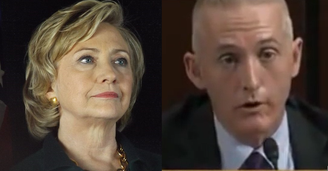 Will Gowdy Tiptoe Around Hillary Now That Benghazi Committee Revealed as Farce?