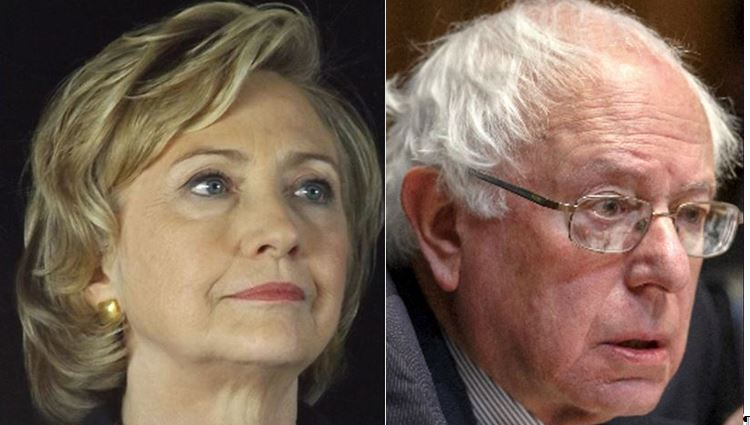Clinton On Message, Sanders Under Pressure