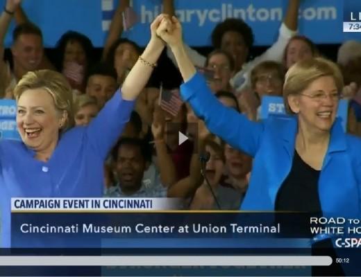 Elizabeth Warren's Passion for Hillary's Candidacy Renders Bernie Irrelevant