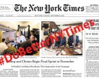 New York Times and the Beltway Press Shamed Into Doing Their Jobs