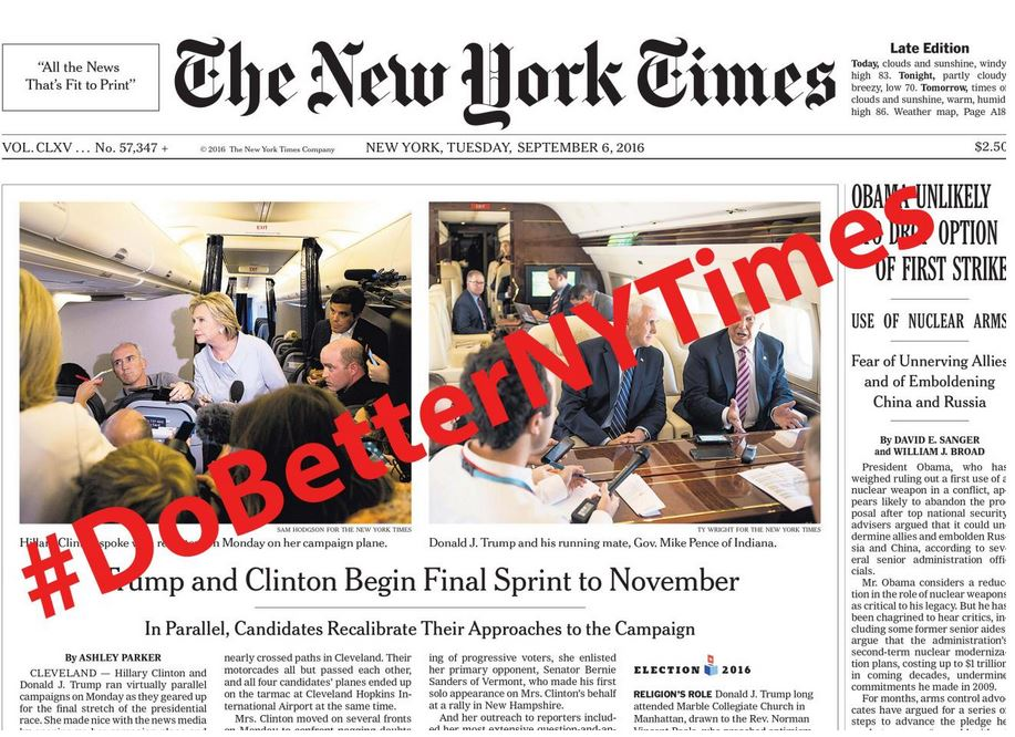 The New York Times' Devastating Effect on the Election