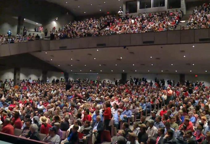 Outraged Citizens at Town Halls Have Republicans Ducking for Cover