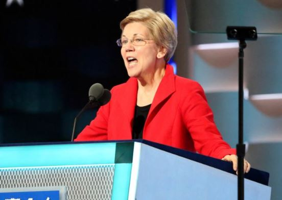 Elizabeth Warren, Wikipedia Commons, Google, labeled for reuse