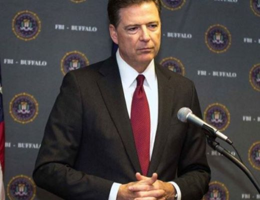FBI Director Comey Is Hiding in Plain Sight