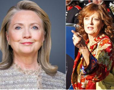Hillary Clinton, Susan Sarandon, files labeled for reuse