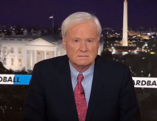 Chris Matthews, Resigning At Last 1