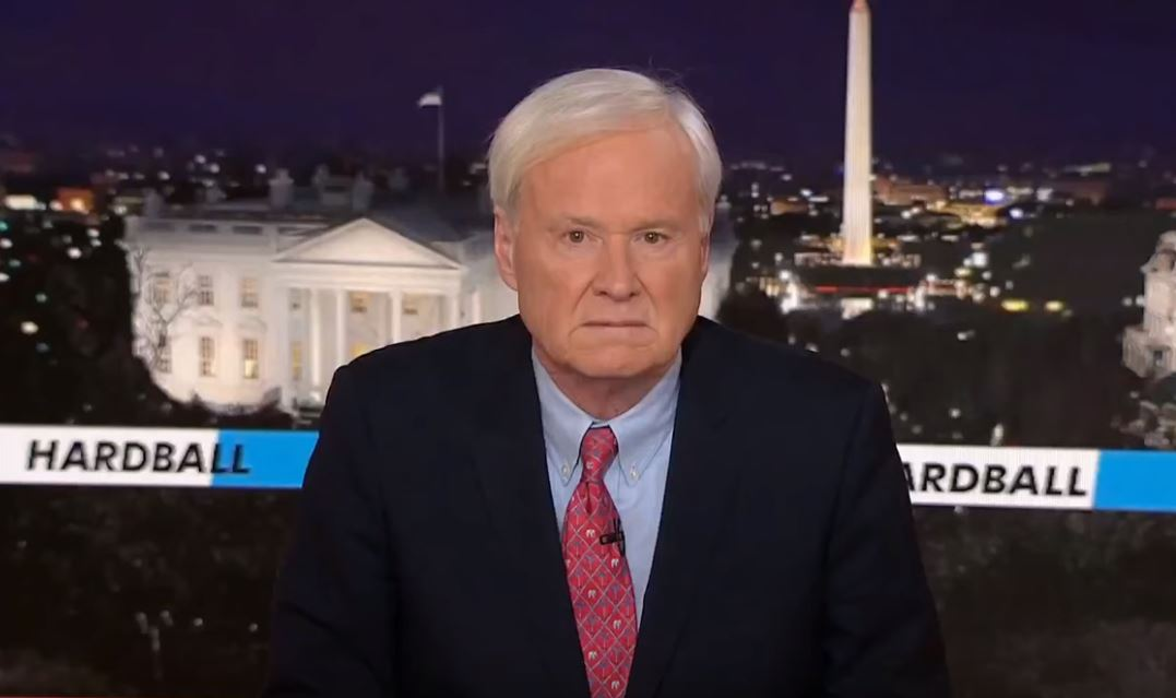 Chris Matthews, Resigning At Last